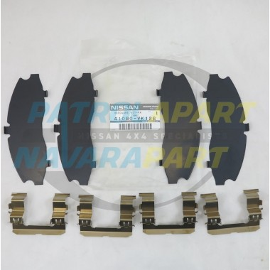 Genuine Nissan Navara D22 4WD Front Brake Caliper Shim Kit