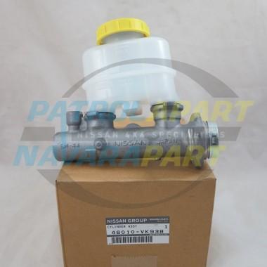 Genuine Nissan Navara D22 2WD Brake Master Cylinder 1997-2012