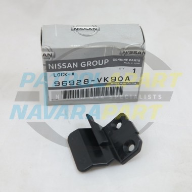 Genuine Nissan Navara D22 Console Lid Lock Latch RH 2000on