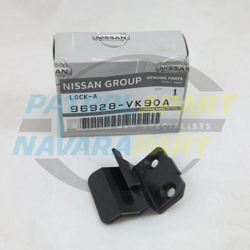 Genuine Nissan Navara D22 Console Lid Lock Latch RH 2000on