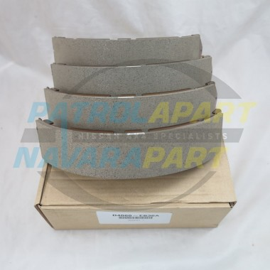 Genuine Nissan Navara D40 VSK YD25 VQ40 V9X Rear Brake Drum Shoes