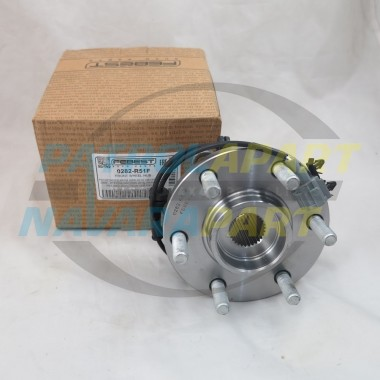 Front Wheel Hub suit Nissan Navara D40 Pathfinder R51 VSK 4WD ABS 05-13