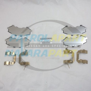 Genuine Nissan Navara D40 R51 V9X Front Brake Caliper Shim Kit