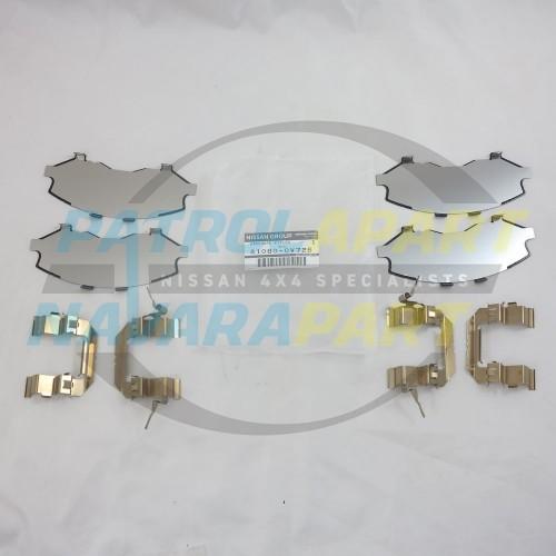 Genuine Nissan Navara D40 R51 V9X Front Brake Caliper Shim Kit