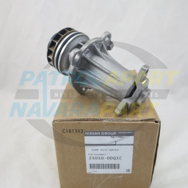 Genuine Nissan Navara D40 Pathfinder R51 V9X 3.0L V6 Water Pump
