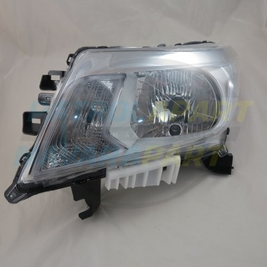 Nissan Navara D23 NP300 RX / DX LH Left Halogen Headlight Lamp
