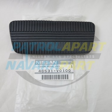 Genuine Nissan Navara D22 KA24 Auto Brake Pedal Pad Rubber