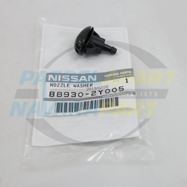 Genuine Nissan Navara D22 Windscreen Washer Bonnet Jet
