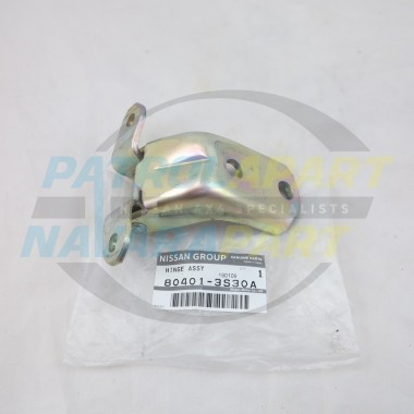 Genuine Nissan Navara D22 Front LH Left Hand Upper Door Hinge