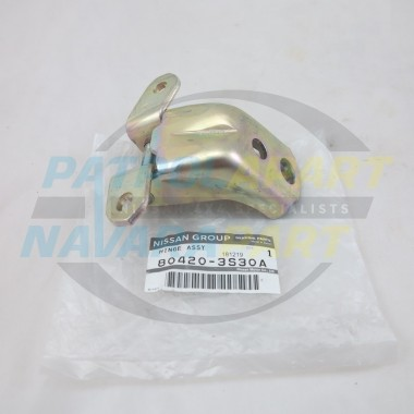Genuine Nissan Navara D22 Front RH Right Hand Lower Door Hinge