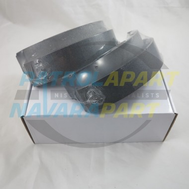 Nissan Navara D22 REAR Brake Shoes suit RWD 260mm Drum