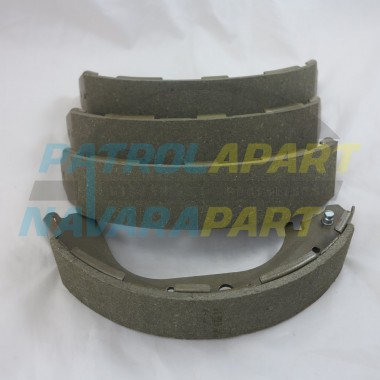 Nissan Navara D22 REAR Brake Shoes suit 4WD 295mm Drum