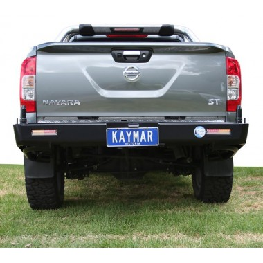 Nissan Navara D23 NP300 Kaymar Rear Bar with Twin Pivots