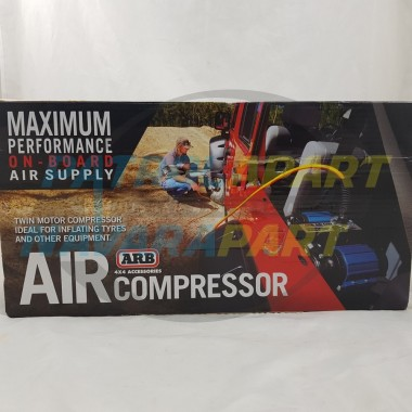 ARB Air Compressor Twin Motor On-Board Max Performance 12V