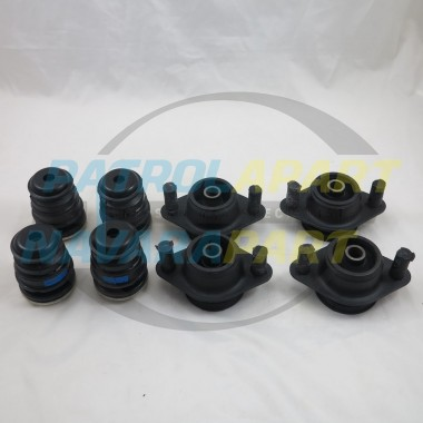 Genuine Nissan Navara D40 MNT VSK Dual Cab Body Mount Set