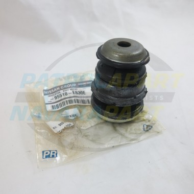 Genuine Nissan Pathfinder R51 Front 1st Row Rubber Body Mount