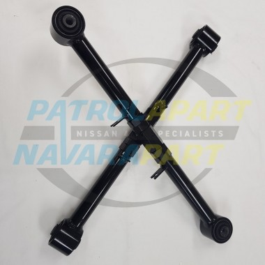 Heavy Duty Rear Adjustable Upper Arms for Nissan Navara D23 NP300