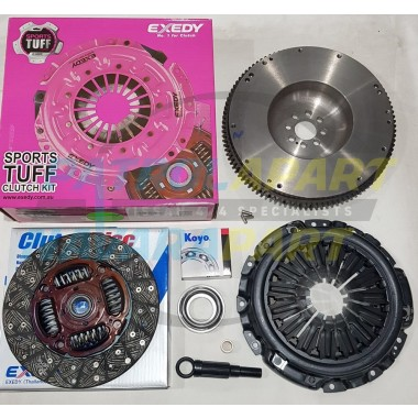 YD25 HD Clutch Kit with Solid Flywheel suit Nissan Navara D40