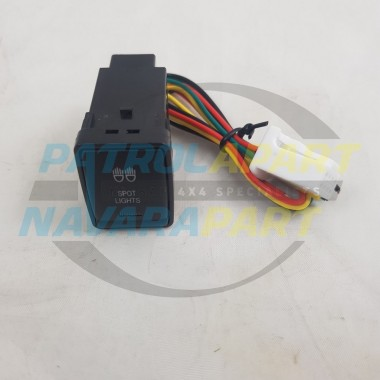 NISSAN D23 NP300 NAVARA R52 PATHFINDER STEDI SWITCH - SPOT LIGHTS