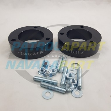 Front Strut Spacer for Nissan Navara D40 & D23 NP300 35mm Pair