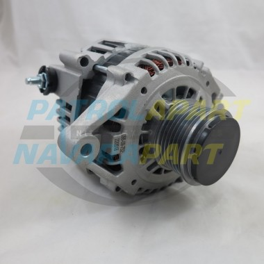 100Amp Alternator for Nissan Navara D22 ZD30 with Clutch Pulley