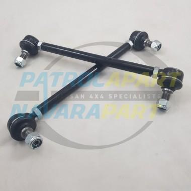 Heavy Duty Rear Extended Sway Bar Link PAIR for Nissan Navara D23 NP300