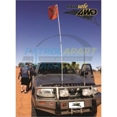 Sand Flag Kit Simpson Desert Compatible for 4WD 4x4