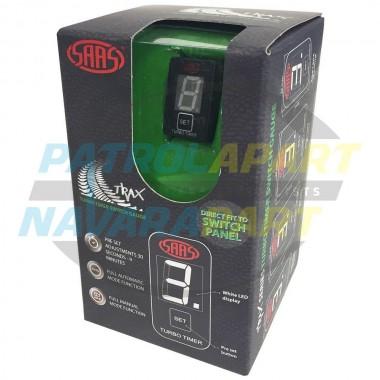 SAAS Universal Digital Auto Turbo Timer Carling Switch size 22mmx49mm