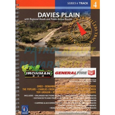 Davies Plain Outback Traveller's Track Guide Map Book