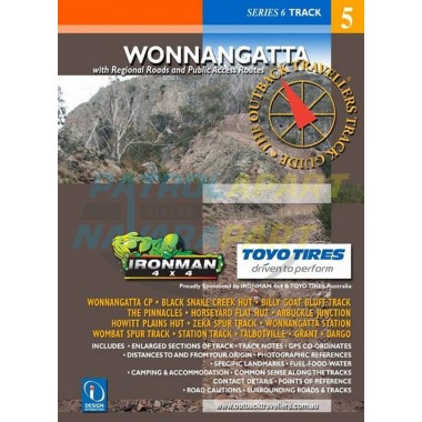 Wonnangatta Outback Travellers Track Guide Map Book