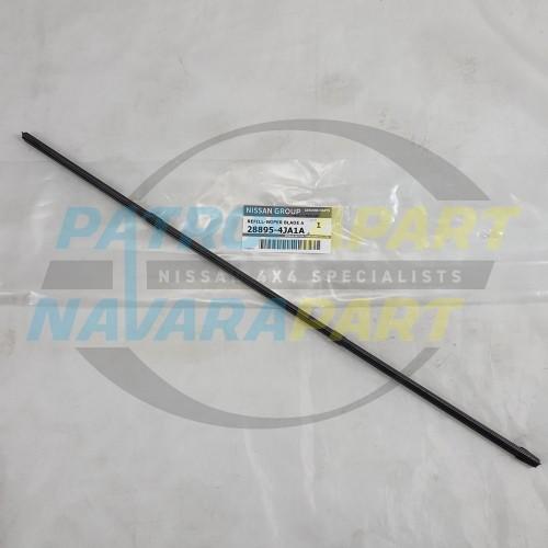 Genuine Nissan Navara D23 NP300 LH Passenger Side Wiper Blade Insert