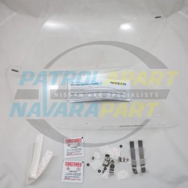 Genuine Nissan Navara D23 NP300 Headlight Protectors PAIR