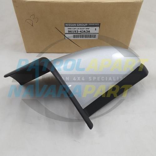 Genuine Nissan Navara D23 NP300 Side Step End Cap Left Hand Rear