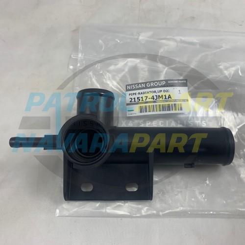 Genuine Nissan Navara D23 NP300 Upper Radiator Cap Pipe Fitting