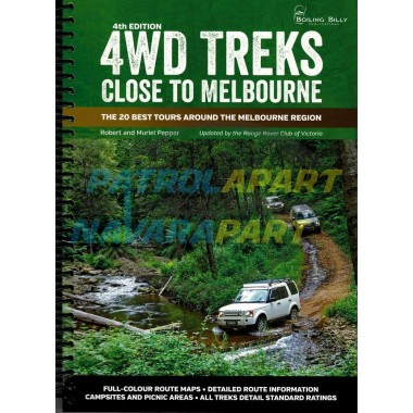 Map Book 4wd Treks Close to Melbourne 4th Edition By Robert Pepper