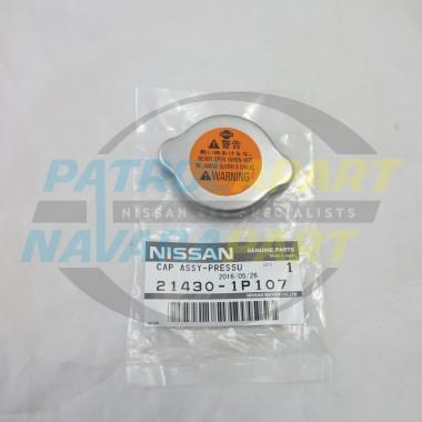 Nissan Navara D40 Pathfinder R51 Genuine Radiator Cap Blank