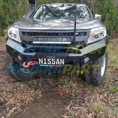 Nissan Navara D23 NP300 Shoreline X1 Extreme Series Bullbar with Hoop