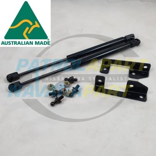 Bonnet Gas Strut Conversion Kit for Nissan Navara D23 NP300 2015 on
