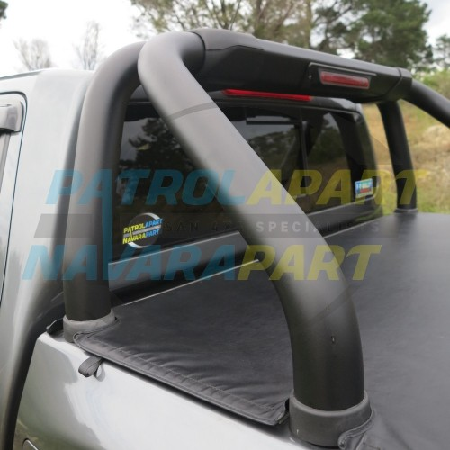 Nissan Navara D23 NP300 Black Powdercoated Roll Bar Changeover Basis