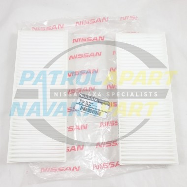 Genuine Nissan Navara D40 Spanish VSK YD25 Cabin Pollen Air Filter (PAIR)