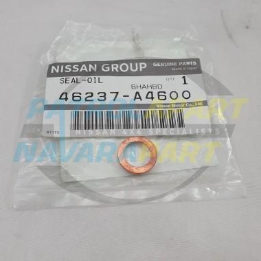 Nissan Patrol GU GQ Genuine Copper Washer - Rubber Brake Hose to Caliper