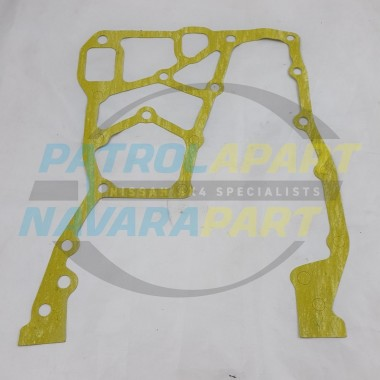 Timing Cover Backing Plate Gasket for Nissan Navara D22 TD27