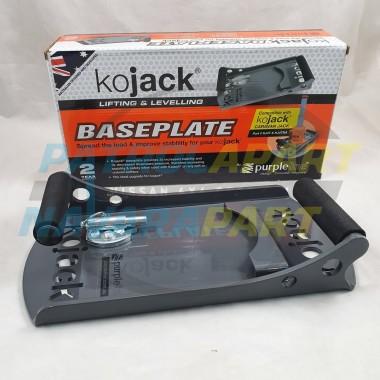 KO Jack Base Plate for Safe Jacking