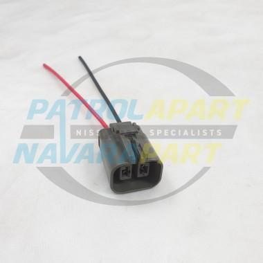 Alternator Wiring Plug for Nissan Navara D22 2 pin plug