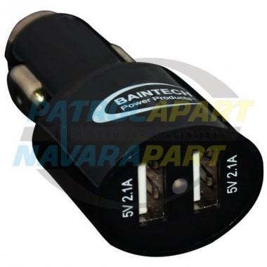 Baintech Ciga Plug Dual USB Car Charger 5V 4.2A TOTAL 2 x 2.1A