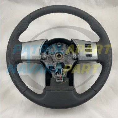 Genuine Nissan Navara D40 Thai MNT Leather Steering Wheel