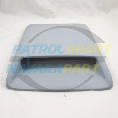 Universal Fiberglass Bonnet Scoop 415mm Long 330mm Wide for 4x4 4WD Grey Primer