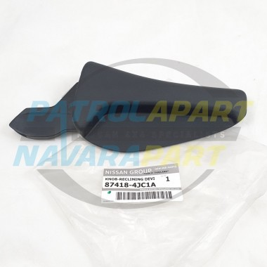 Genuine Nissan Navara D23 NP300 Right Hand Front Manual Seat Recliner Lever