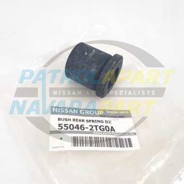 Genuine Nissan Navara D22 MNT YD25 Rear Leaf Spring Bush