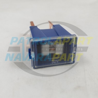 NEW 100A Blue Fuse for Nissan Navara D22 Thai & Jap JN1 MNT